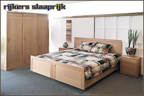Deelbare bedset Sam van meubelfabriek Henk van den Broek.
